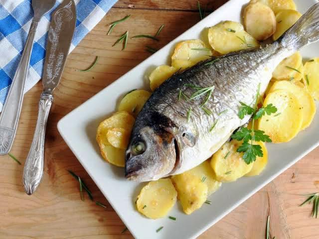Allevamento_ittico_gaviano_Gaviano_sardegna_cefalo_o_orata_al_forno_con_patate